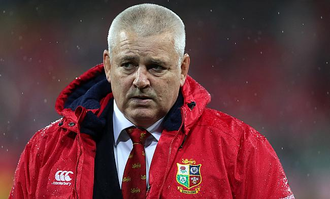 Warren Gatland will once again be in charge of the British and Irish Lions