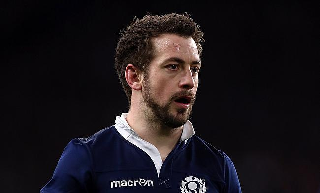 Greig Laidlaw finished on the losing side