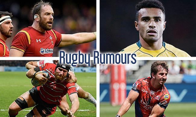 Alun Wyn Jones, Will Genia, Kwagga Smith and Ben Morgan