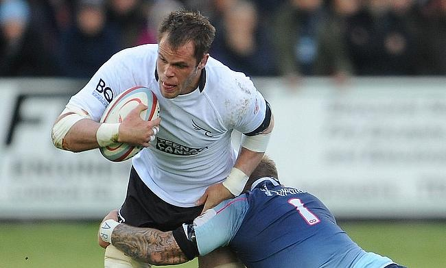 Will Welch has played 226 times for Newcastle Falcons