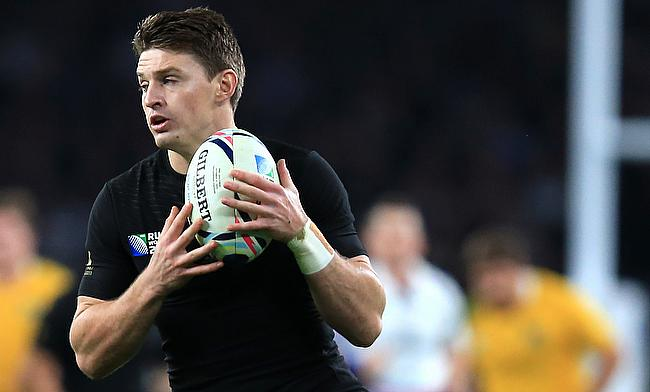 Beauden Barrett kicked 10 points