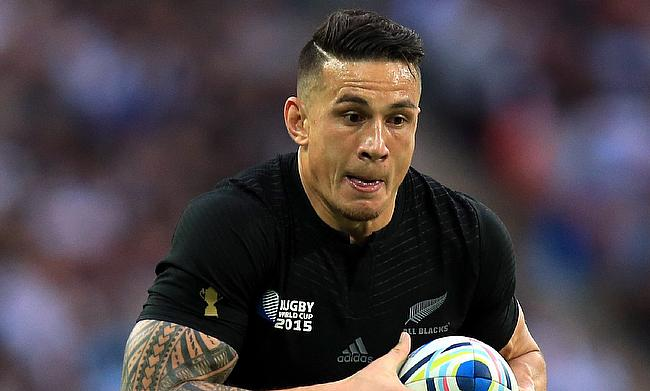 Sonny Bill Williams is one of the try-scorer for New Zealand