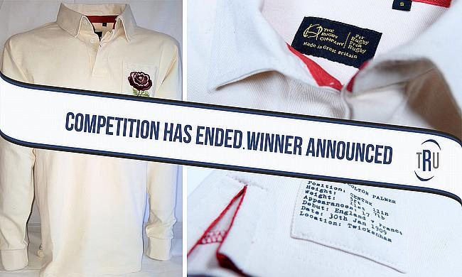 Win a retro rugby shirt from The Rugby Company