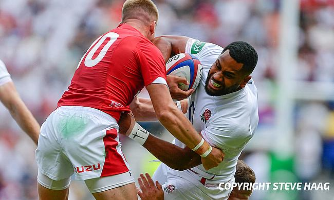 Joe Cokanasiga scored for England in last weekend's win over Ireland