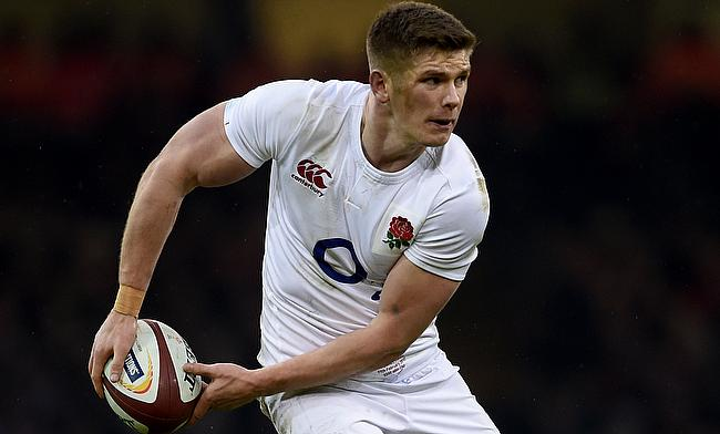 Owen Farrell plated at fly-half for England