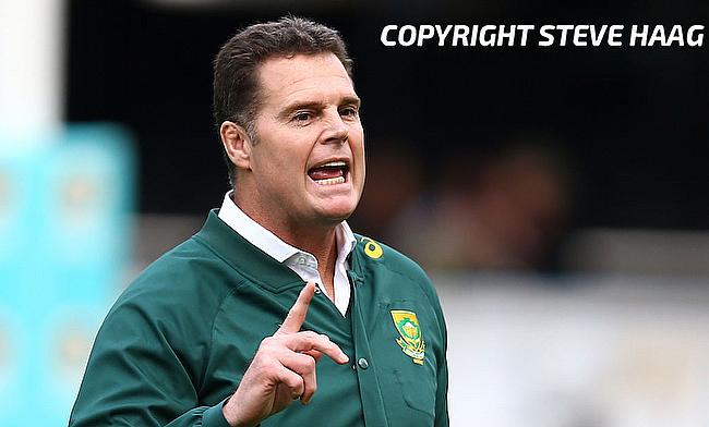 Rassie Erasmus will be hoping for an improved performance from South Africa