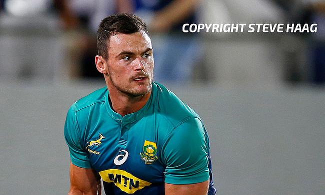 Jesse Kriel last played for Springboks during the opening game against New Zealand