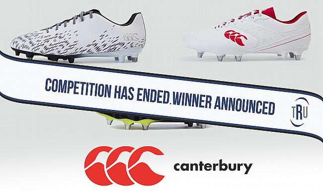 Win your choice of Canterbury boots