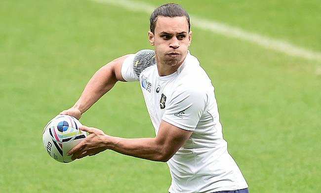 Matt Toomua (in picture) played with George Ford for Leicester Tigers