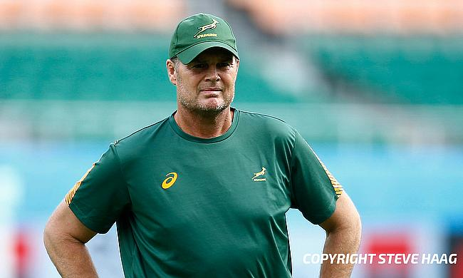 Rassie Erasmus took over South Africa coaching role in February 2018