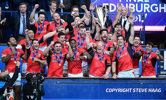 Saracens were the winners of the Champions Cup last season