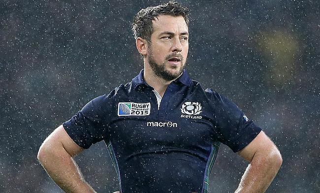 Greig Laidlaw kicked three conversions and two penalties