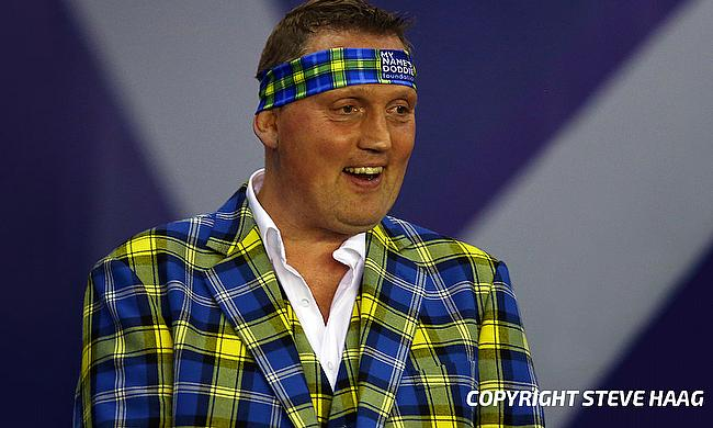 Doddie Weir was presented with the BBC Sports Personality of the Year Helen Rollason Award