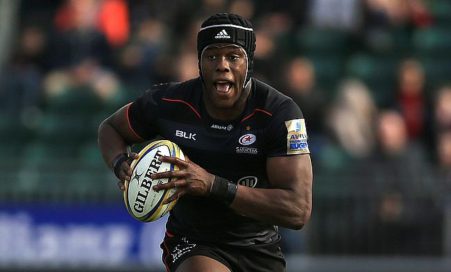Maro Itoje scored two tries for Saracens