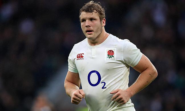Joe Launchbury missed the game against France with knee injury