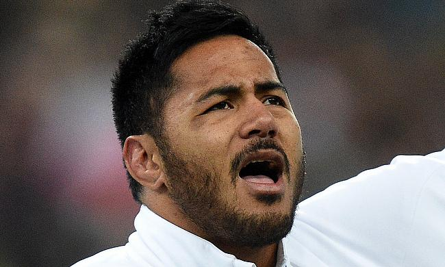 Manu Tuilagi was sent off in the 75th minute during the game at Twickenham Stadium