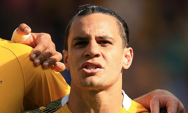 Matt Toomua joined Melbourne Rebels in 2019