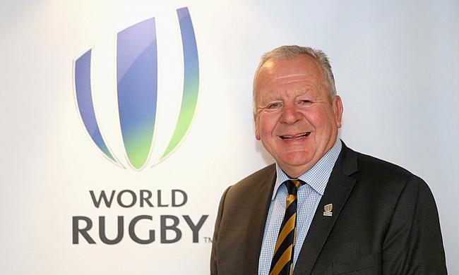 Sir Bill Beaumont was re-elected World Rugby chairman