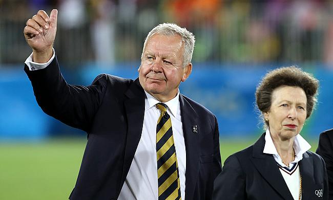 World Rugby chairman Sir Bill Beaumont