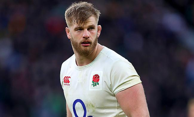 George Kruis has played 45 Tests for England