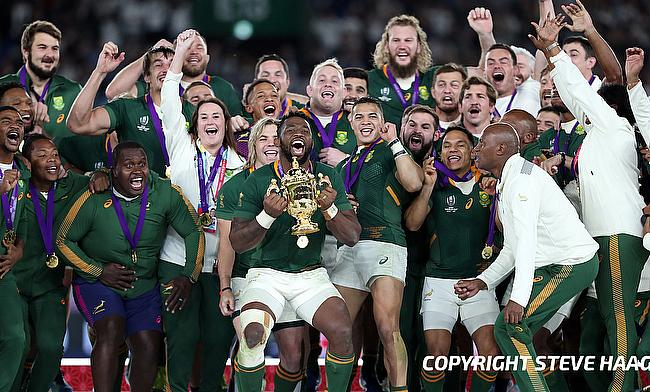 South Africa were the winners of the World Cup last year