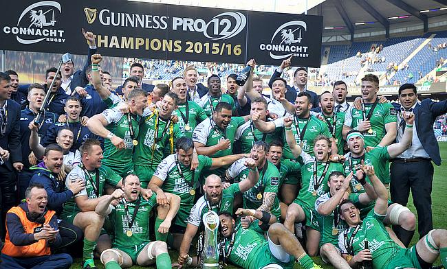 Connacht were the winners of the 2015/16 season of Pro12