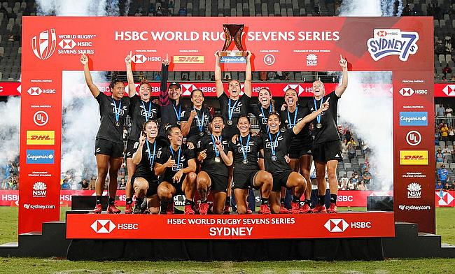 New Zealand Women won four out of the five series