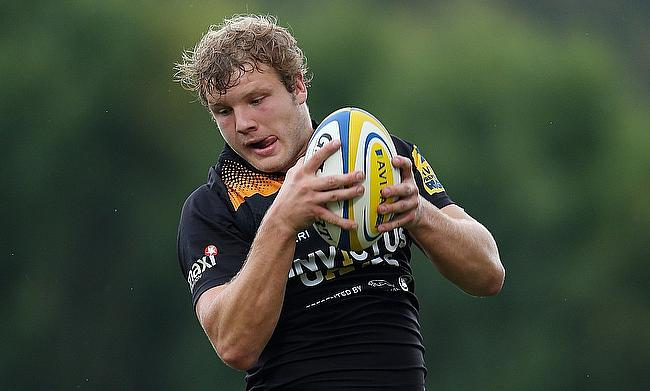 Joe Launchbury joined Wasps in 2010