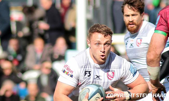 Ollie Thorley scored two tries for Gloucester