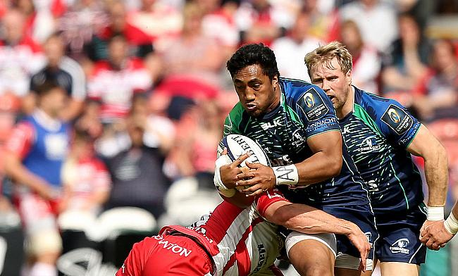 Bundee Aki scored two tries for Connacht