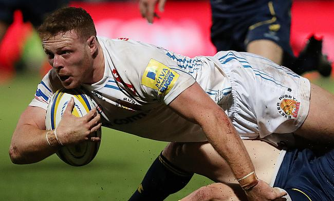 Sam Simmonds was impressive for Exeter Chiefs