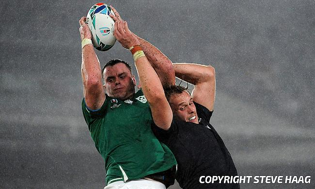 James Ryan (left) will captain Ireland against England