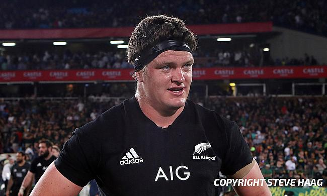 Scott Barrett returns in the second row for New Zealand