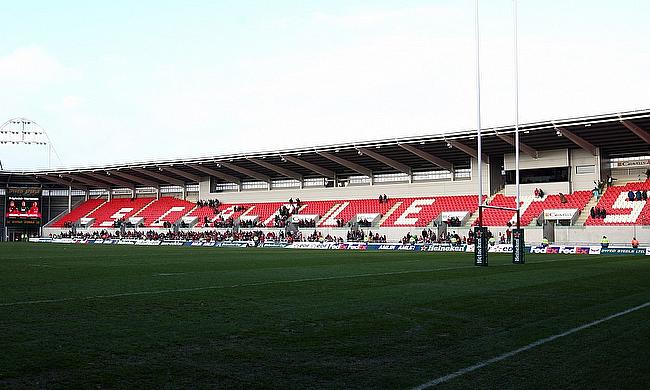 Parc Y Scarlets was set to host the game