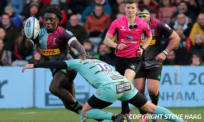 Gabriel Ibitoye played for Harlequins before joining Agen