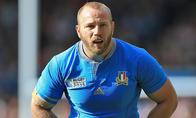 Leonardo Ghiraldini has played 107 Tests for Italy