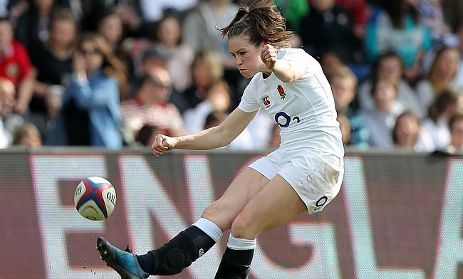 Emily Scarratt kicked five conversions for England