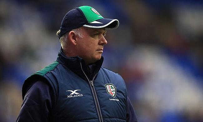 London Irish director of rugby Declan Kidney