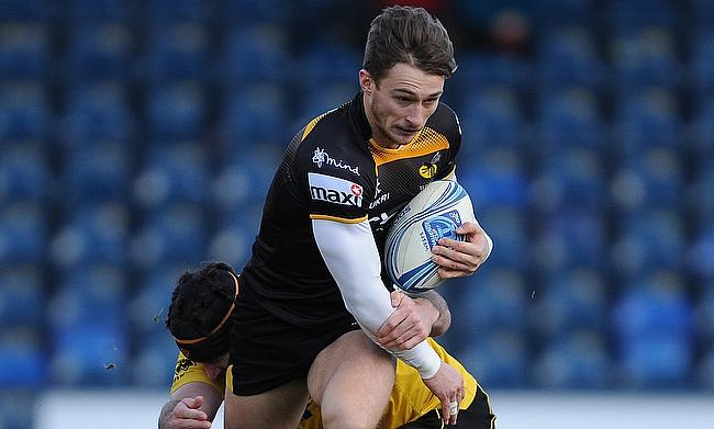 Josh Bassett was one of the try-scorer for Wasps